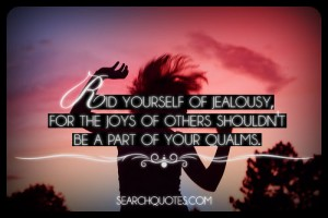 rid of jealousy