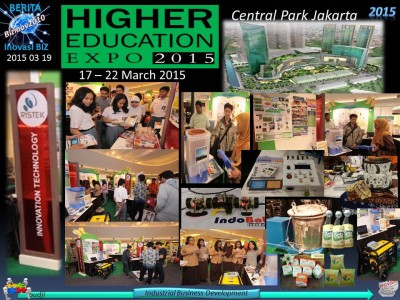 2015 03 19 Berita Inovasi - Higher Edu Expo