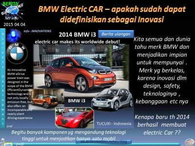 2015 04 04 Berita Inovasi - BMW Electric Car