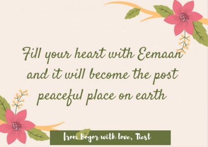 Fill Your Heart with Eemaan